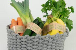 INDUPLAST FoodPackers - Obst und Gemüseband - geeignet für den direkten Kontakt mit Lebensmitteln