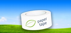 INDUPLAST paper adhesive tape in clear white (double-white)